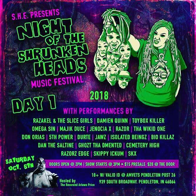 Shruken Head Fest